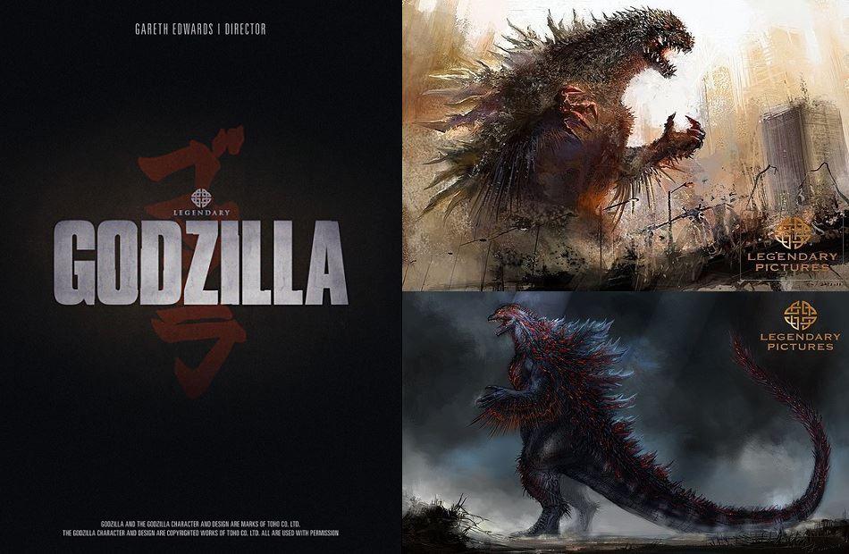 Alleged Godzilla concept artwork (click for larger)