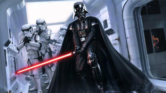 Darth Vader artwork