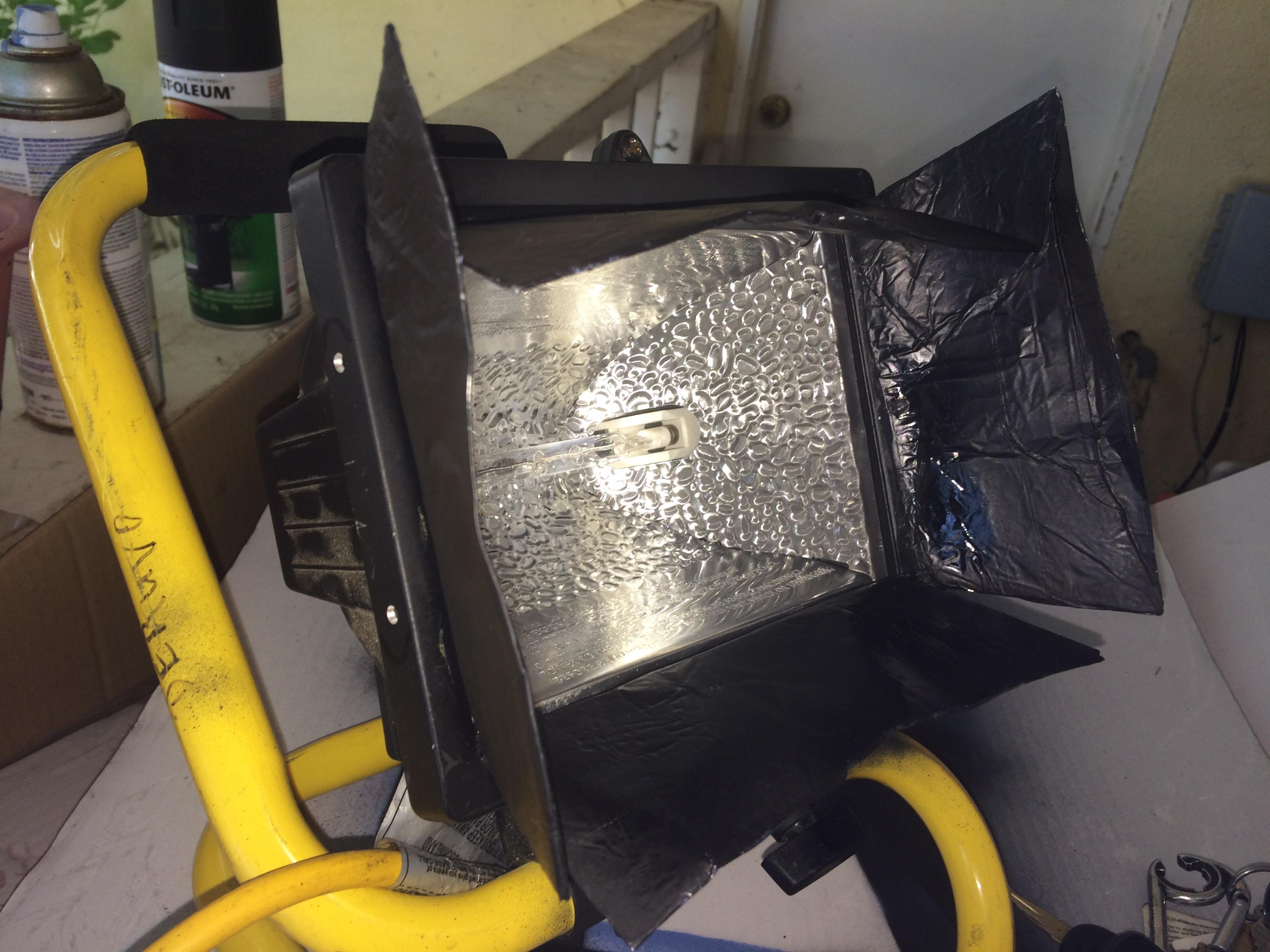 Lighting 101 How To Make Diy Barn Doors For Work Lights Part 1