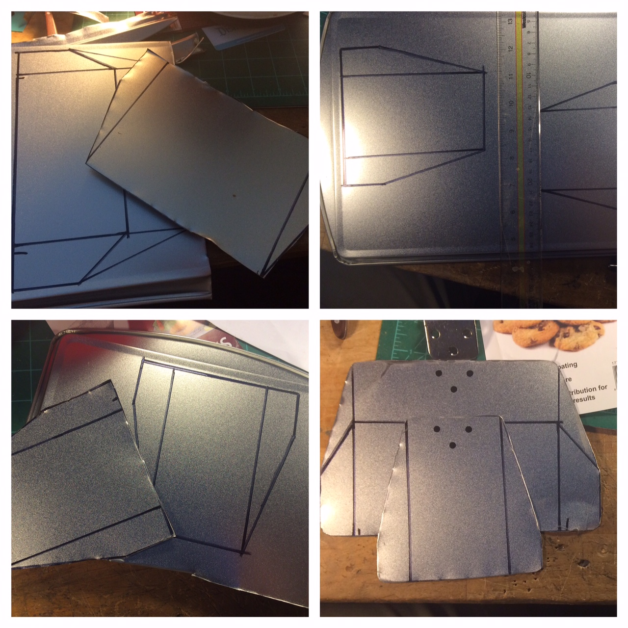 Lighting 101 How To Make Diy Barn Doors For Work Lights Part 2